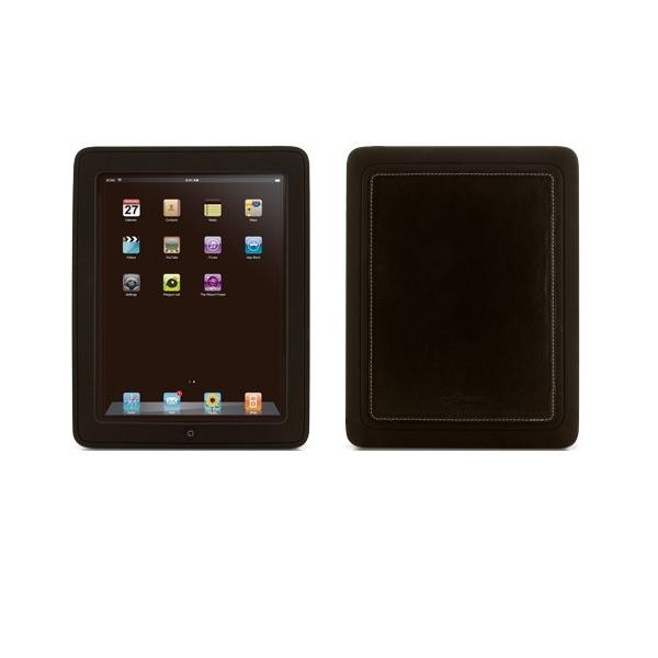 Black Apple iPad Leather Stylish Protective Case BN-PA10011-BK