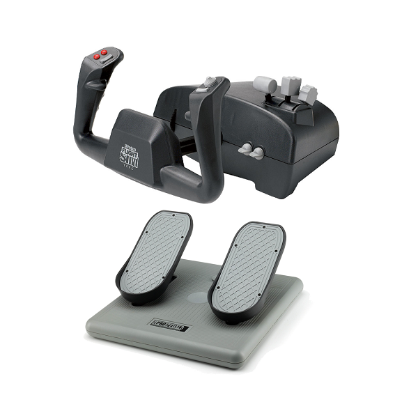 "CH Products ""Aviator Pack"" For PC & Mac (Inc USB Yoke & Pedals)"