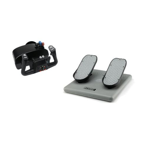 "CH Products ""Racer Pack"" For PC & Mac (Inc USB Eclipse Yoke & Pedals)"
