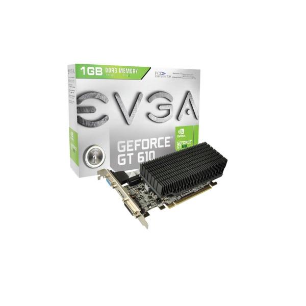GeForce GT 610 01G-P3-2613-KR Passive Heatsink PCIE Graphics Card EVGA-01G-P3-2613-KR