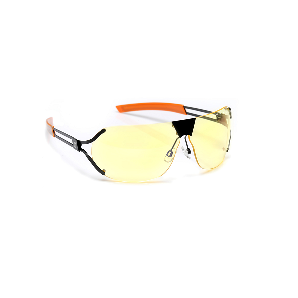 SteelSeries Desmo Amber Onyx Indoor Digital Eyewear GN-DES-05101z