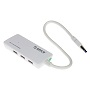 Orico White 3 Port USB3 Hub With SD & TF Card Reader (PL)