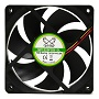 Scythe 120mm Kama Flow2 EX-FDB 900RPM Fan [SP1225FDB12L]