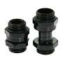 "Swiftech Black SLI & CrossFireX 11 To 18mm Brass Lok-Seal G1/4"" Connector"