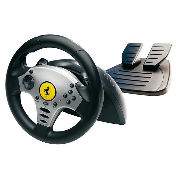 Universal Challenge 5 in 1 Racing Wheel For PC, PS2, PS3, GameCube & Wii TM-2960700