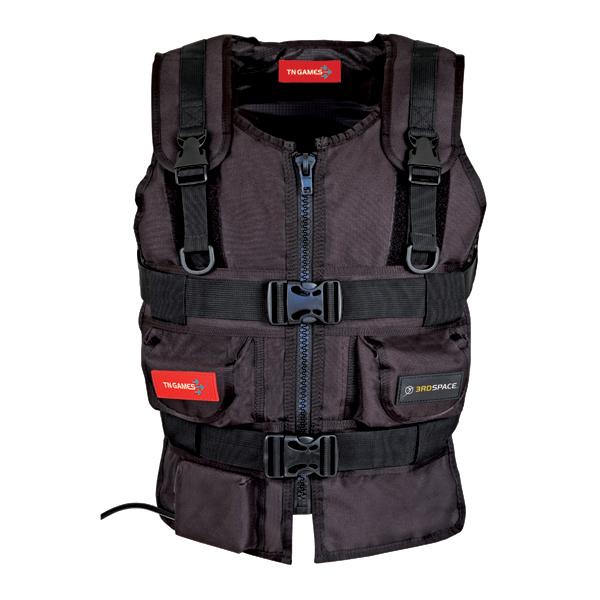 3RD Space Black FPS Gaming Vest Large With Duke Nukem Forever Support