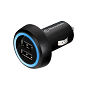 Thermaltake Black TriP Dual USB Car Charger