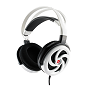 Tt eSPORTS Shining White Shock Spin 3.5mm Headset