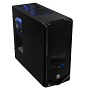 Thermaltake Black Edition V4 Mid Tower Chassis & 500w PSU (USB3)