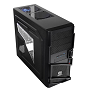 Thermaltake Black Commander MS-I Mid Tower Chassis & 500w PSU (USB3)