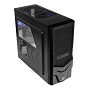 Thermaltake Black Spacecraft VF-I Mid Tower Chassis & 500w PSU (USB3)