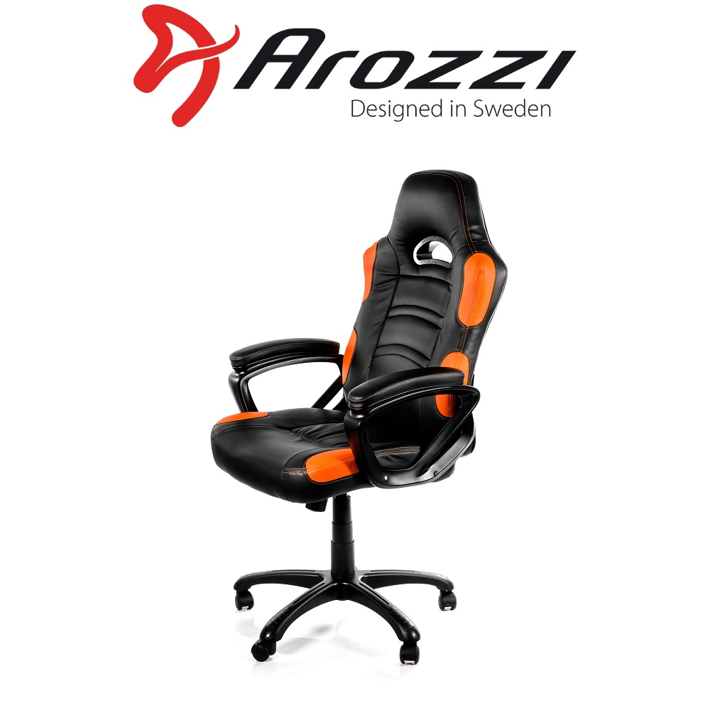 Arozzi Enzo - Orange & Black