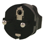 US 3 Pin to Euro 3 Pin Plug Adapter
