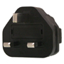 US 3 Pin to UK 3 Pin Plug Adapter