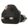 EU 2 Pin to UK Plug Adapter